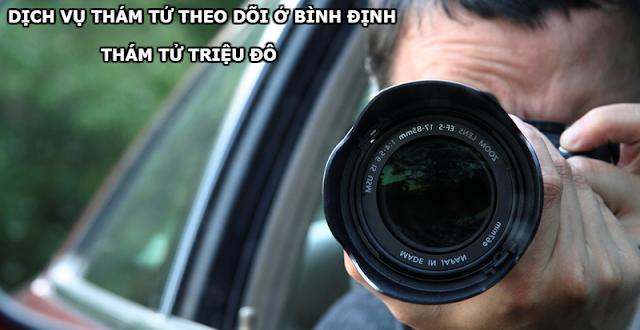 Dịch vụ thám tử theo dõi ngoại tình ở Quy Nhơn Bình Định