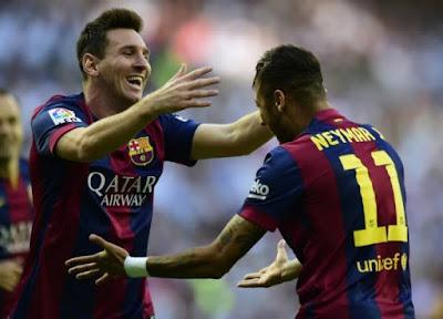 Messi defiende a Neymar