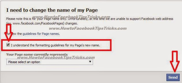 Official tricks for Change Facebook Page Name Above 200 likes 2015