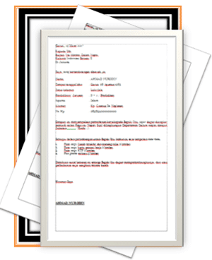 Downlod Surat Lamaran Pekerjaan Umum, Lamaran BANK dan PNS