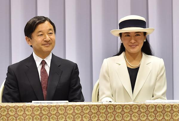 prince naruhito and princess masako attend a event for rio
