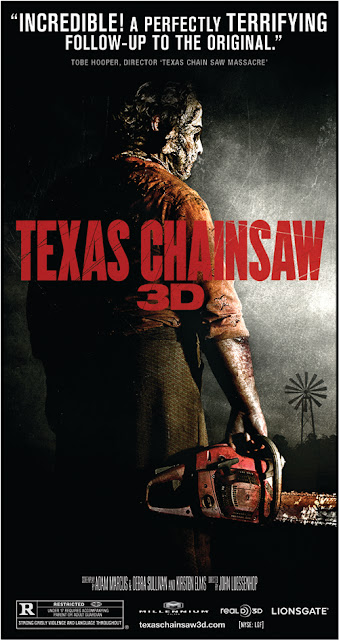 Texas Chainsaw 3D BD/DVD Goodies Revealed!