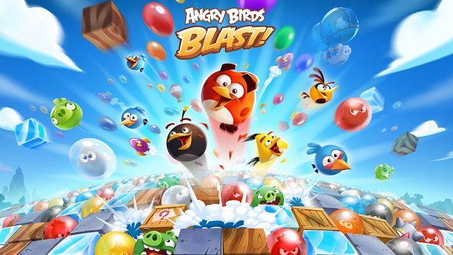 Download Angry Birds Blast Apk MOD Unlimited Lives and Moves