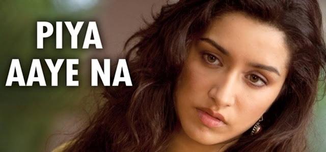 Piya Aaye Na LYRICS Guitar CHORDS, Hindi song from the movie Aashiqui 2