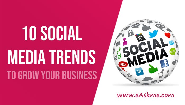10 Social Media Trends That Will Give Your Business Success in 2020: eAskme