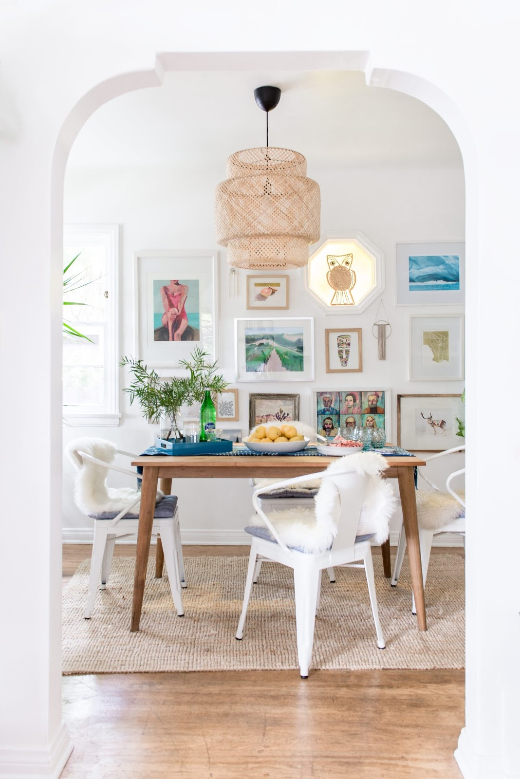 The Dining Room Is One Of The Spaces Where I Definitely Took A More Playful  Approach To Decorating. We Started Off By Painting The Entire House A Nice  ...
