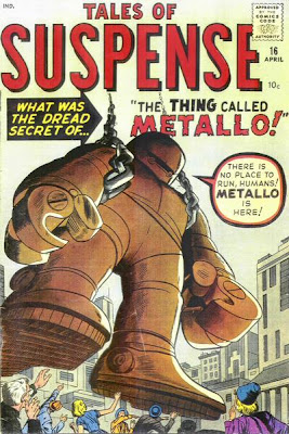 Tales of Suspense #16, Metallo