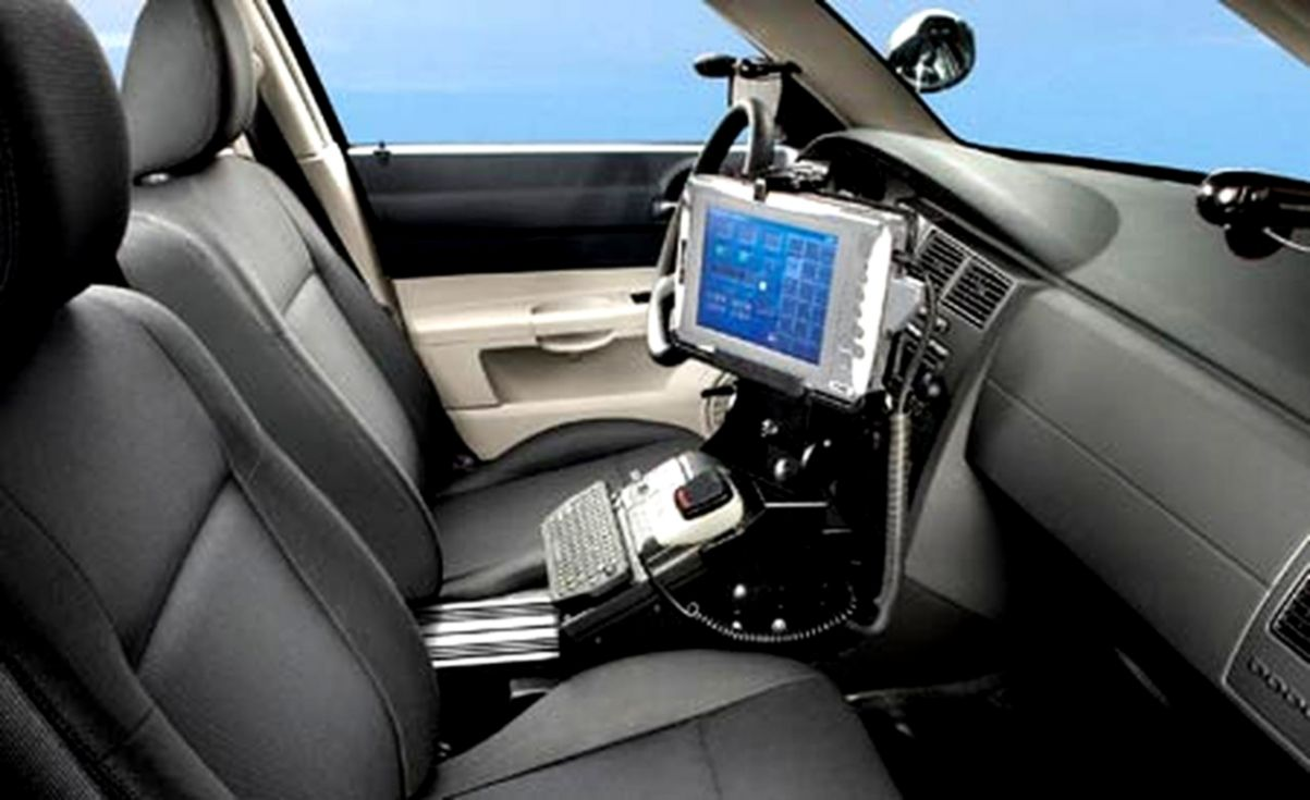 Police Car Interior Amazing Wallpapers