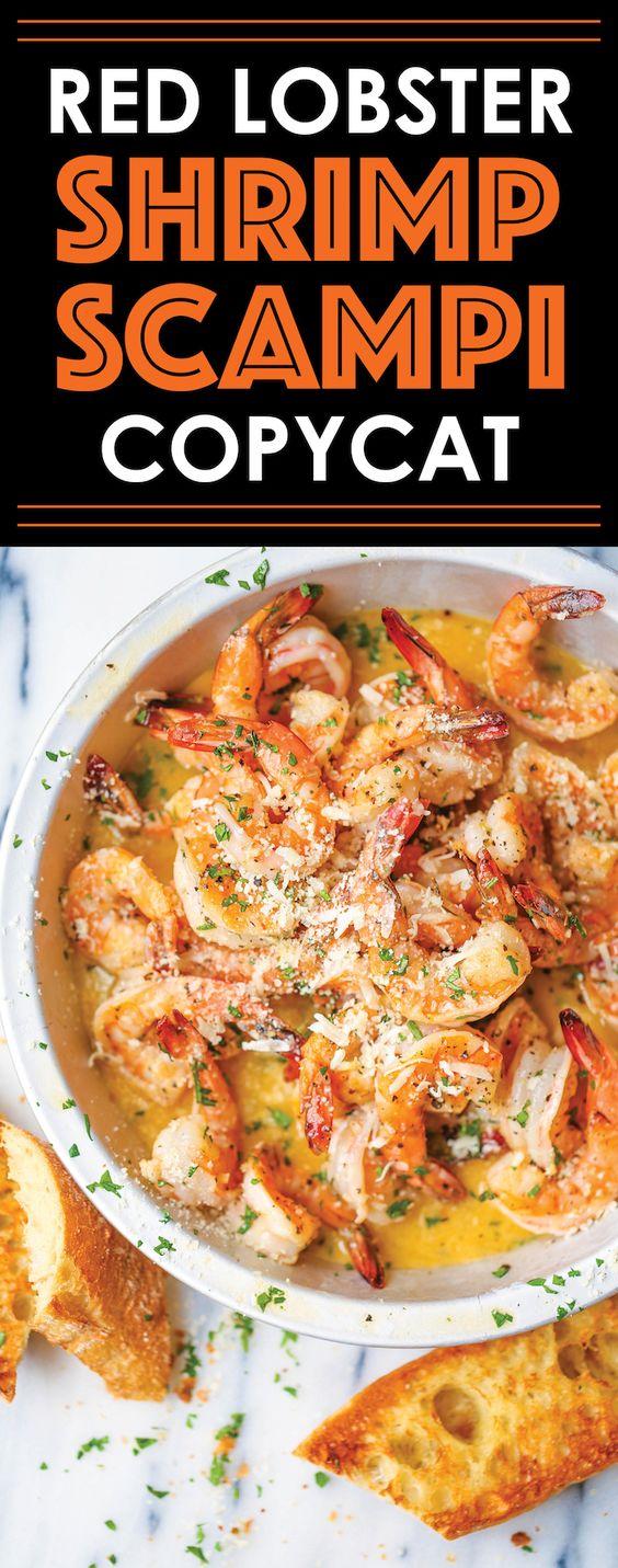 The Best Red Lobster Shrimp Scampi Copycat