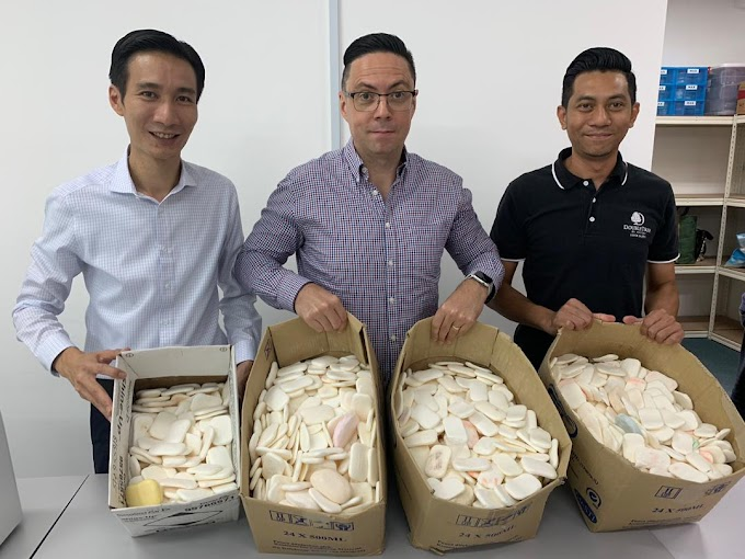 First Ever Soap-Recycling Program by DoubleTree by Hilton Johor Bahru
