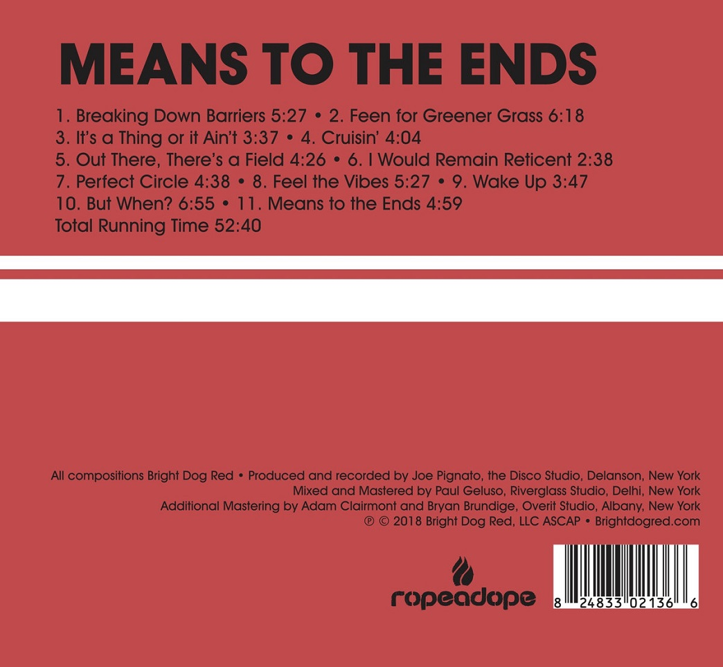 Republic Of Jazz Bright Dog Red Means To The Ends Ropeadope Owen Brown Top Leux Studio Quizs Tambin Le Interese