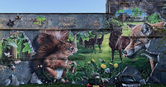 Glasgow's Wall Art