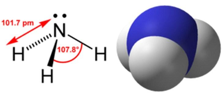 Rumus Kimia Amonia