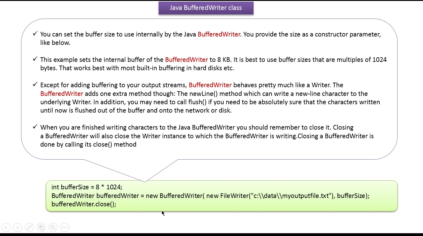 Java ee java tutorial java io bufferedwriter java tutorial java io bufferedwriter baditri Image collections