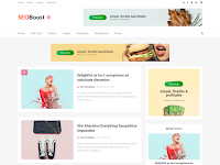 SeoBoost Best SEO Optimized Blogger Template