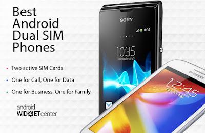 Best Dual SIM Android phones