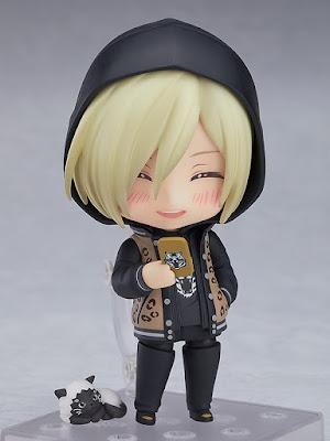 Nendoroid Yuri Plisetsky Casual Ver. de YURI!!! on ICE - Good Smile Company