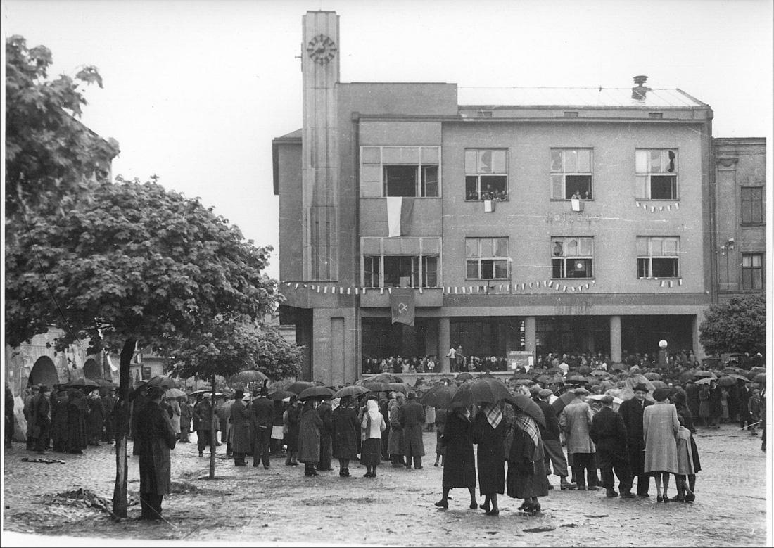 Освобождение Пршибора. 1945