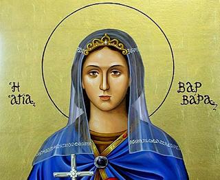 Η μαρτυρική ζωή της πανέμορφης Αγίας Βαρβάρας που σφαγιάστηκε από τον ίδιο της τον πατέρα γιατί ήταν Χριστιανή