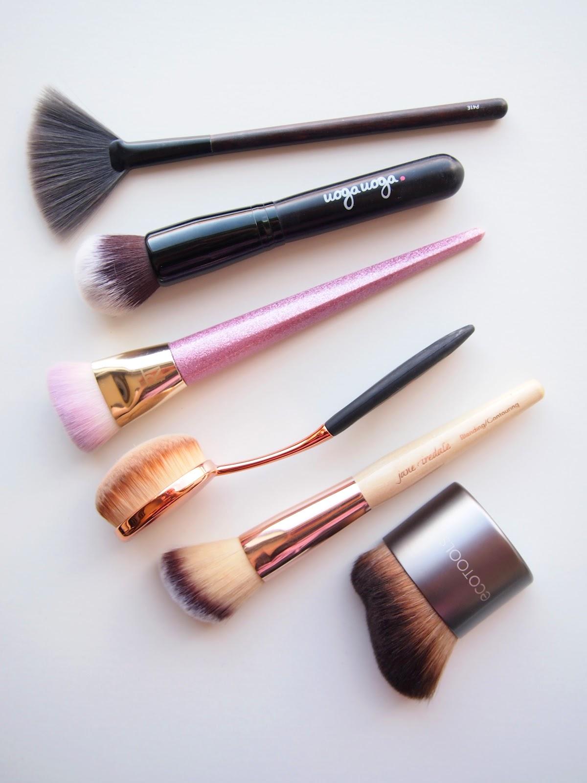 Vegaaninen  meikkisivellin koko meikkiin