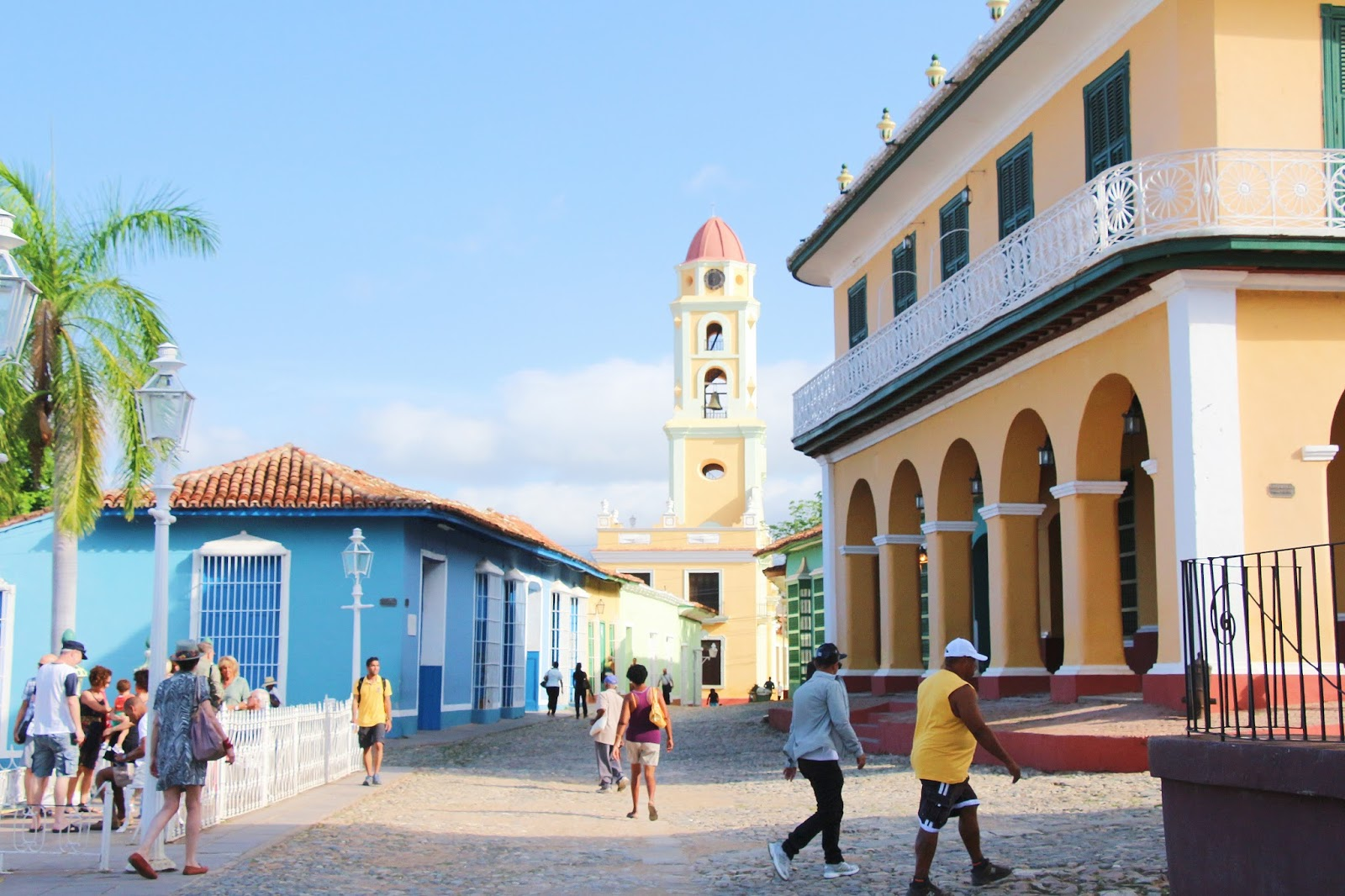 Plaza Mayor, Trinidad - Cuba
