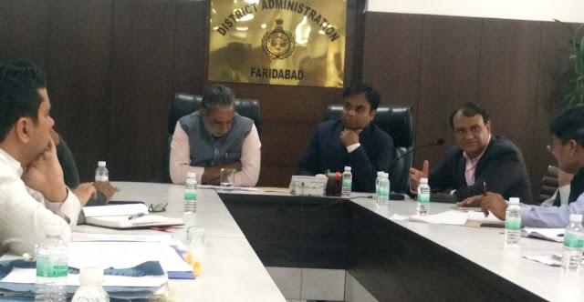 Minister Gujjar meeting on the acquired land for Manjhali bridge
