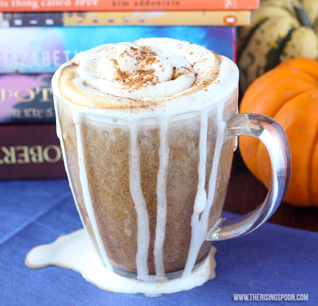 Pumpkin Spice Latte Recipe with Vanilla Almond Milk