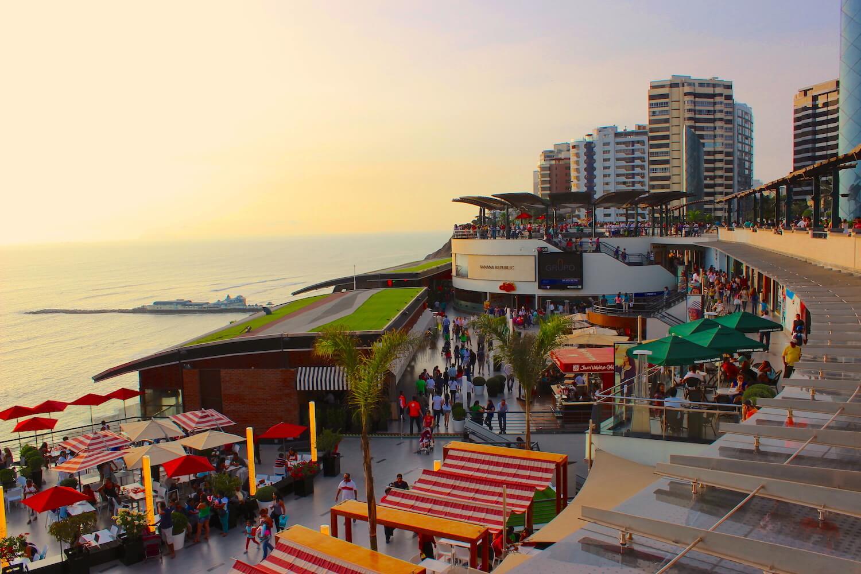 larcomar shopping centre in miraflores