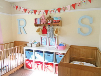 Pennants in children's bedrooms 2
