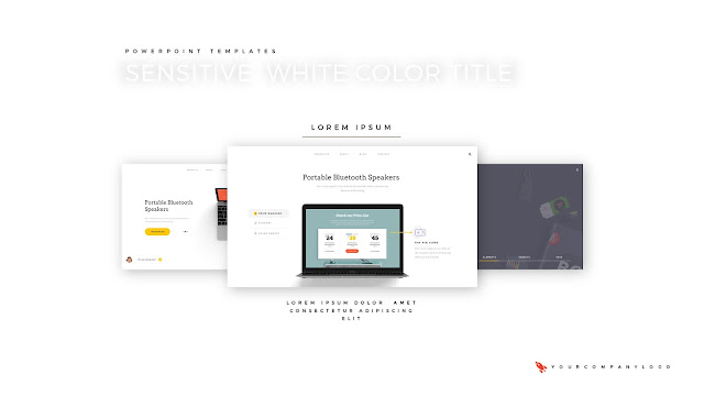 Our Portfolio of Premium PowerPoint Template with Whit Title