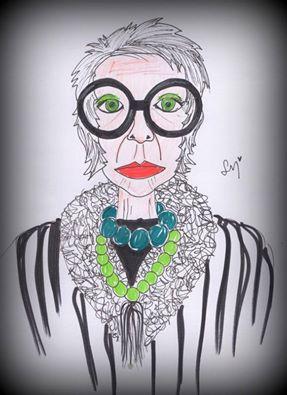 Lola Mento, LolaMento, Ilustraciones Lola Mento, Ilustraciones LolaMento, Lola Mento Ilustraciones, lolamento ilustraciones, Iris Apfel, Iris Apfel ilustraciones, Iris Apfel Illustration,