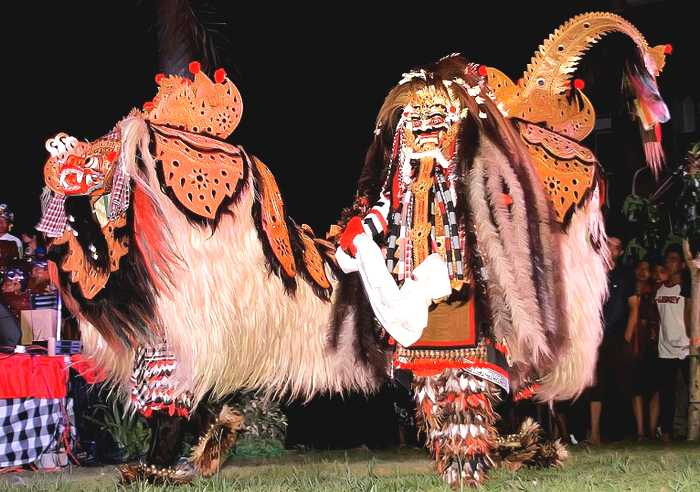 Barong Dance and Rangda