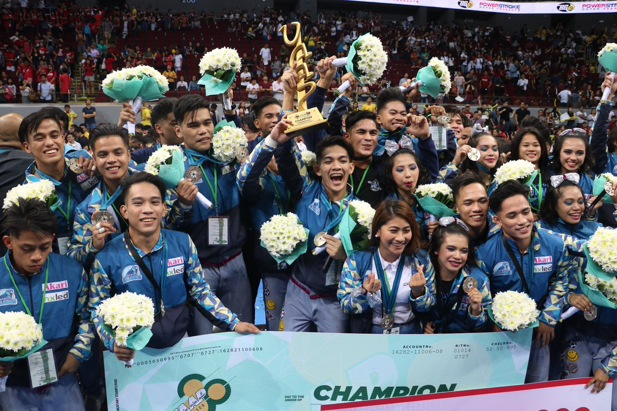 Netizens react on Adamson Pep Squad's win in the 2017 UAAP CDC