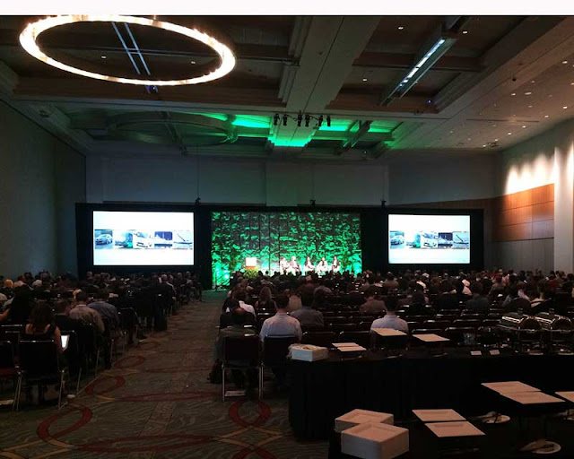 Palmia astronmer attends the Energy Storage North America conference in San Diego