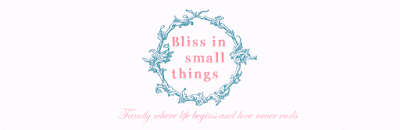 Bliss in small things