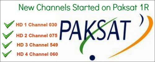Paksat 38 Full TV Channel List With Frequency Updated: Paksat 1r