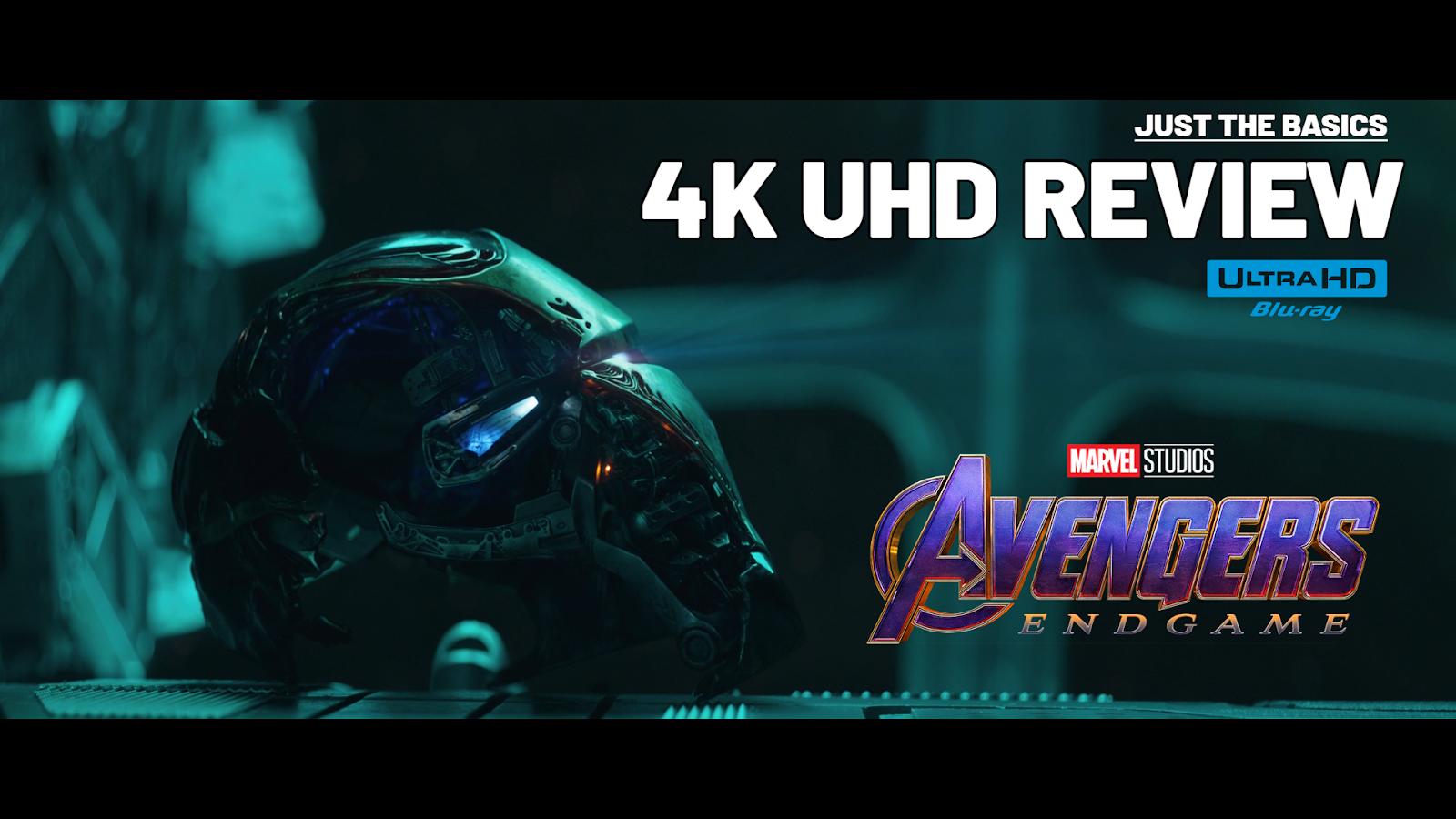 Avengers: Endgame (2019) 4K Ultra HD Blu-ray Blu-ray Review