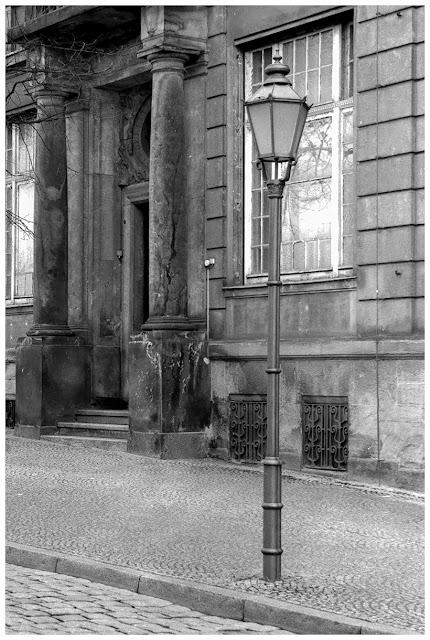 Brüderstraße Zeitz, fotografiert mit Praktica MTL 5