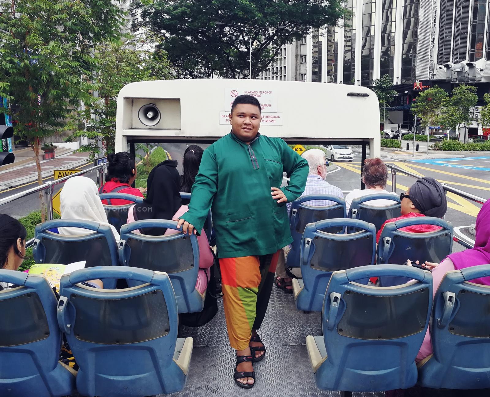KL Hop-On Hop-Off - Jalan-Jalan Di Kuala Lumpur Bersama Bas KL Hop-On Hop-Off !