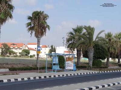 Pafos, przystanek autobusowy