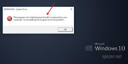 Mengatasi xlive.dll is missing di Windows 10 [Saat Main Game Resident Evil 5]