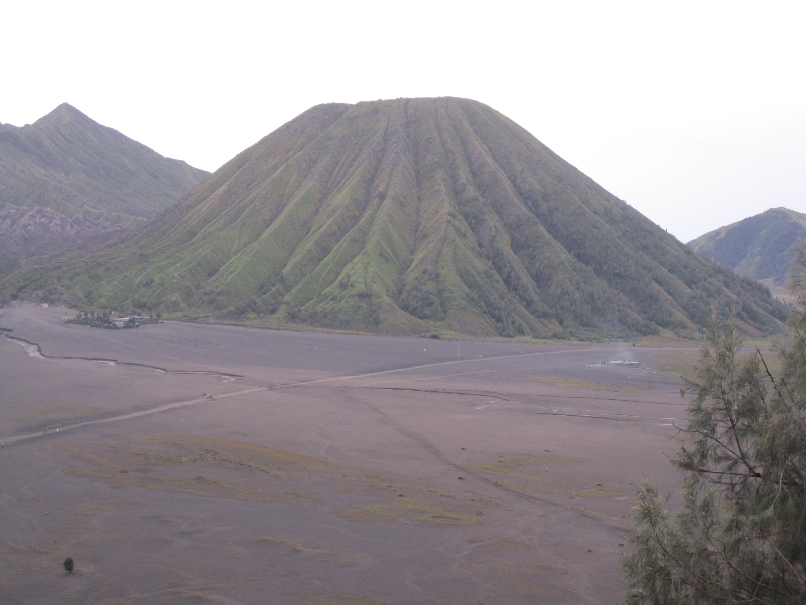 mount Batok in Bromo area