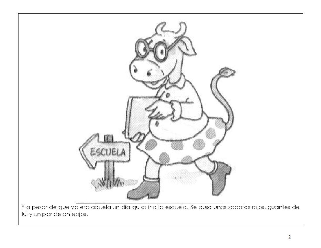 Rayito De Colores La Vaca Estudiosa