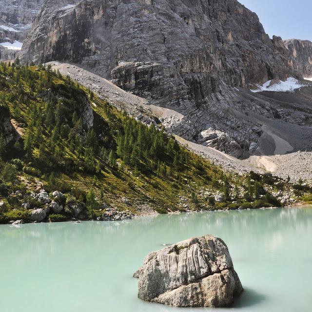 TOP 3 niesamowite jeziora północnych Włoch - Lago di Braies, Lago di Sorapis, Laghi di Fusine