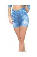 Pantaloni Scurti TEO denim Escape Star Jeans (Escape Star Jeans)