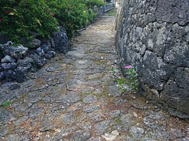 富里の石畳道の写真