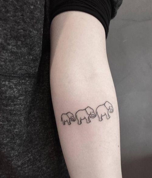 30 Mejores Tatuajes De Elefantes Y Su Significadotop 2019