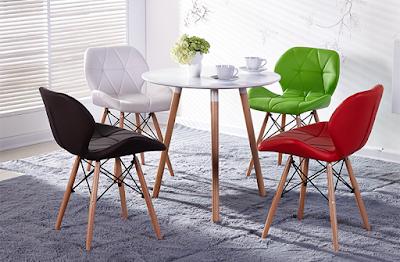 Hai mẫu ghế phổ biến dành cho phòng khách trong gia đình