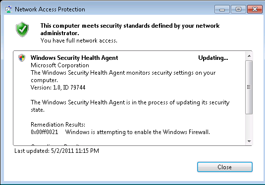 The Microsoft Platform: RD Gateway using NPS and NAP