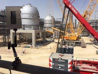 O2O中東沙漠工程縮時攝影架設實例-1